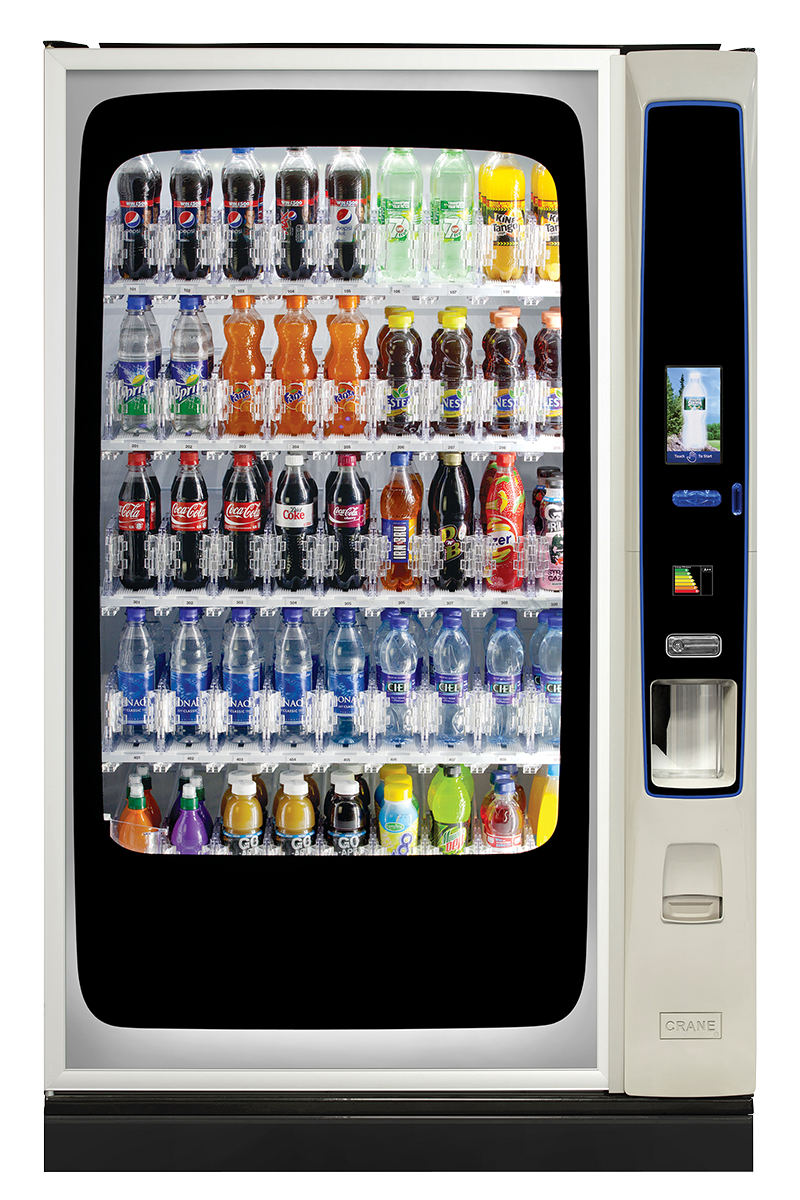 BevMax Media Touch 45 cold drinks vending machine