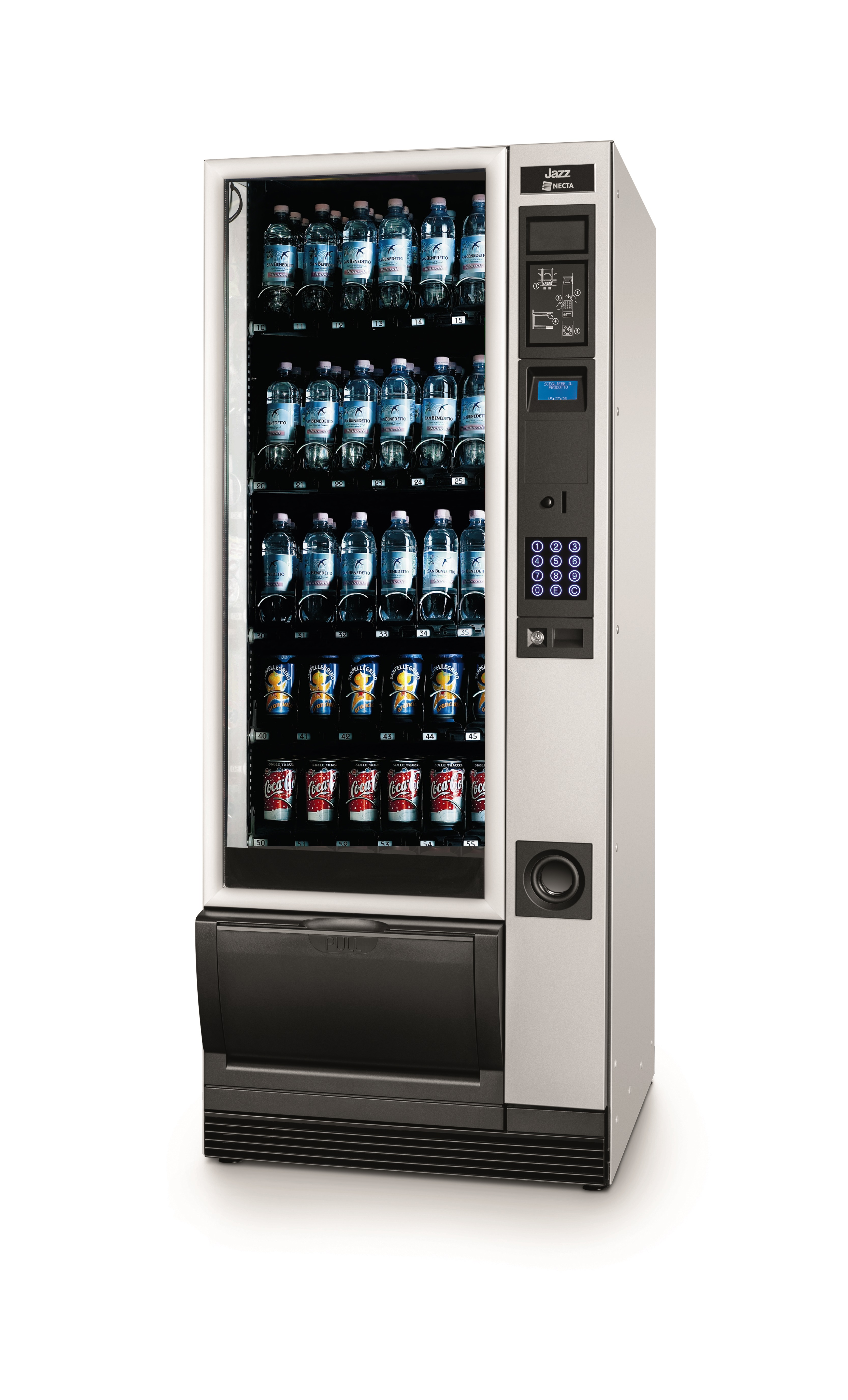 Jazz compact complete vending machine