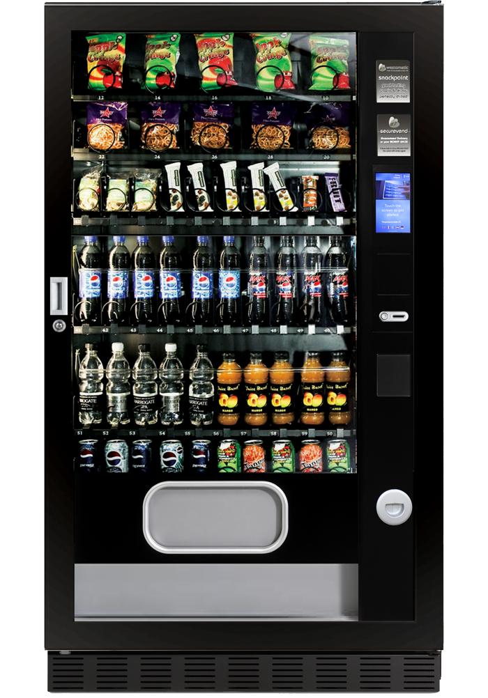 Combo snack and drink machine Duo L