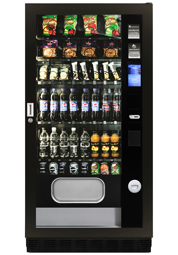 Combo snack and drink machine Duo M