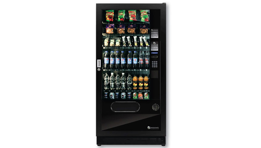Combo Vending Machine Quattro Max