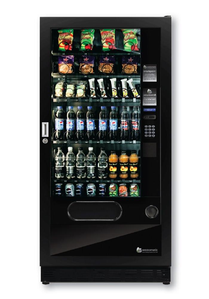 Combo Vending Machine Quattro Max
