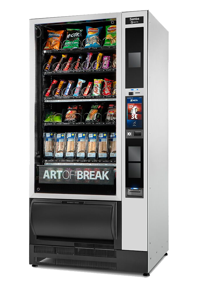 Food vending machine samba touch