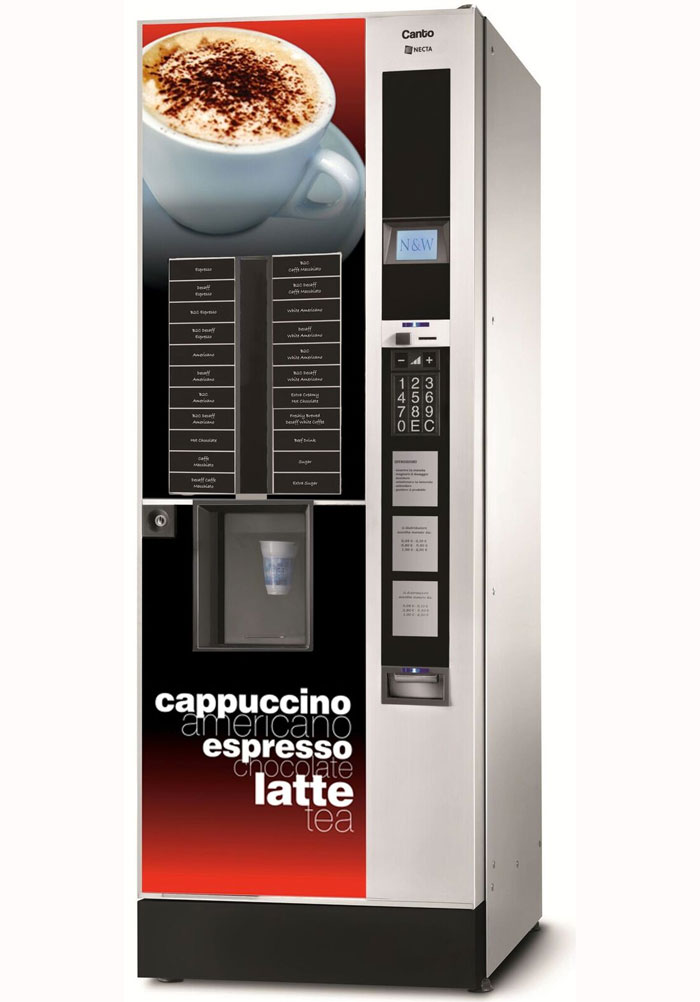 Hot drinks machine Canto