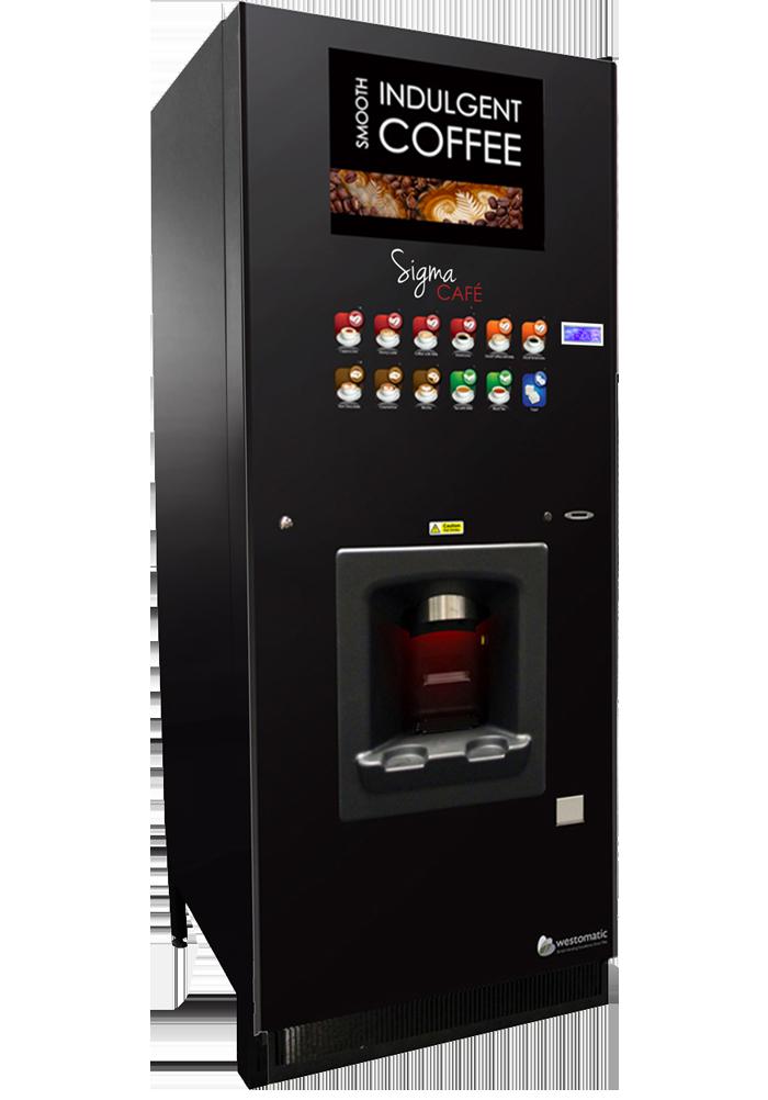 Workplace coffee machine