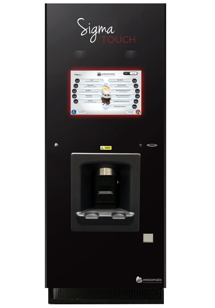 Hot drinks vending machine sigma touch