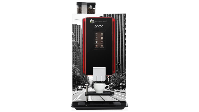 Table top coffee vending machine primo touch