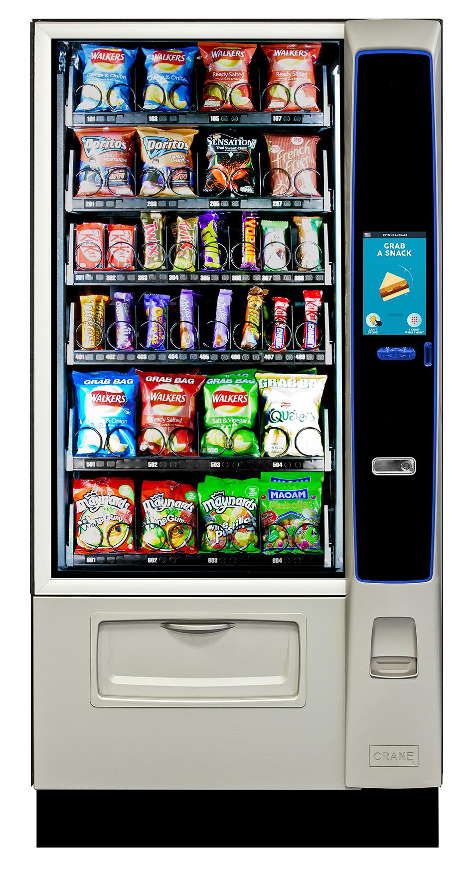 Merchant Media 2 4 Snack Machine
